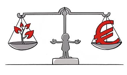 Cartoon Bodemsanerings ontwerp