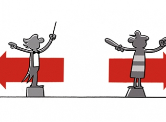 Cartoon Grondtransport