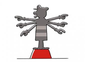 Cartoon Projectmanagement bodemsanering